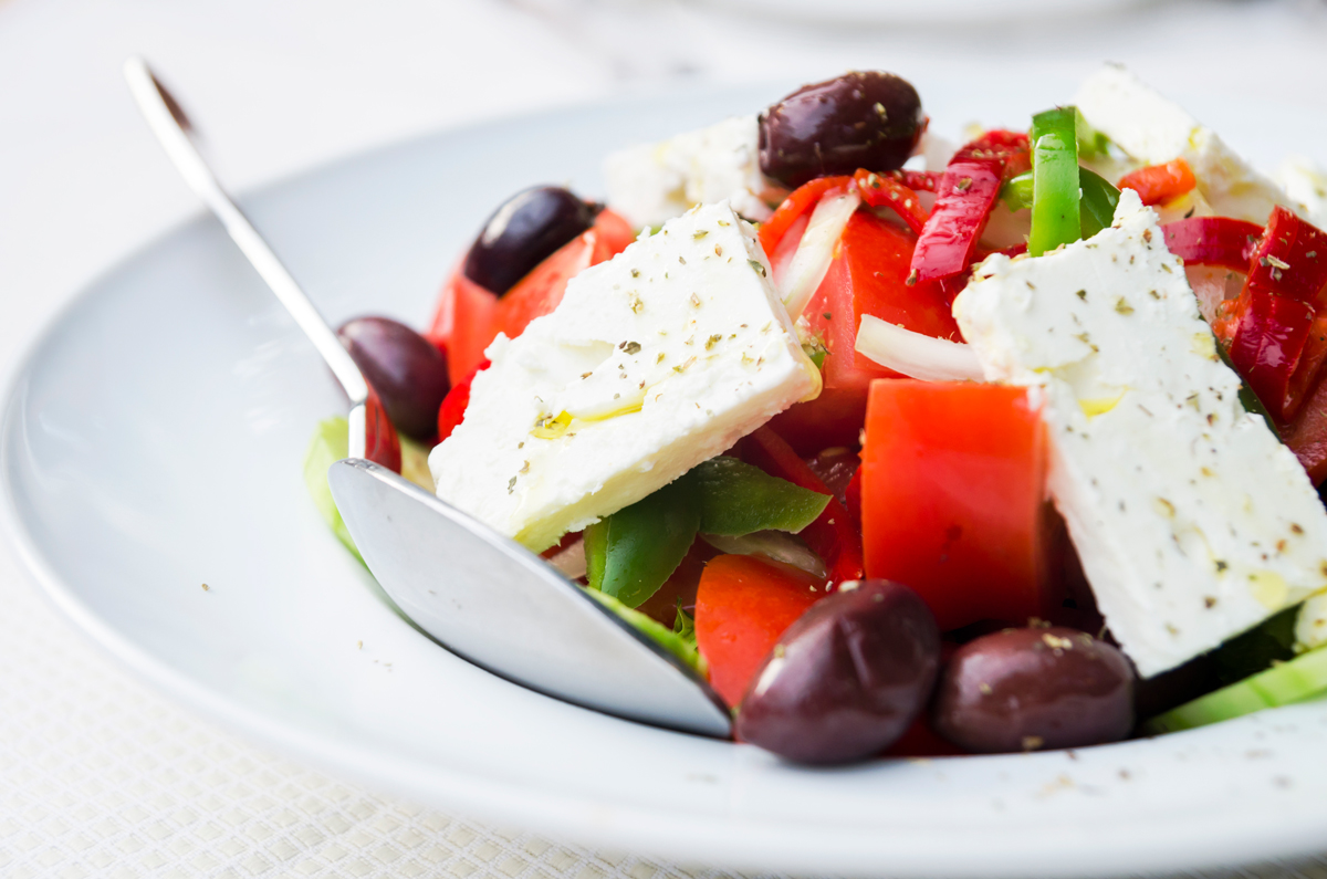Proprietà insalata greca